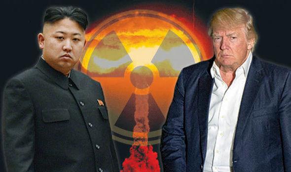 Trump amenaza con atacar Corea del Norte