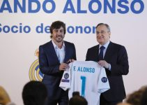 Fernando Alonso socio de honor del Real Madrid