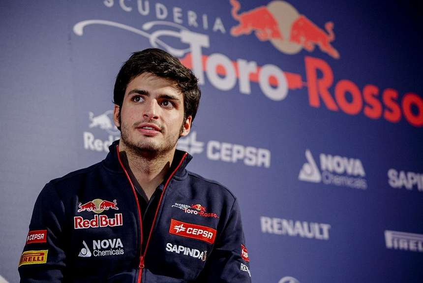 Carlos Sainz Jr no está contento en Toro Rosso