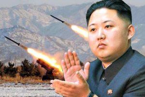 Kim Jong-un lanza un misil por encima de Japón