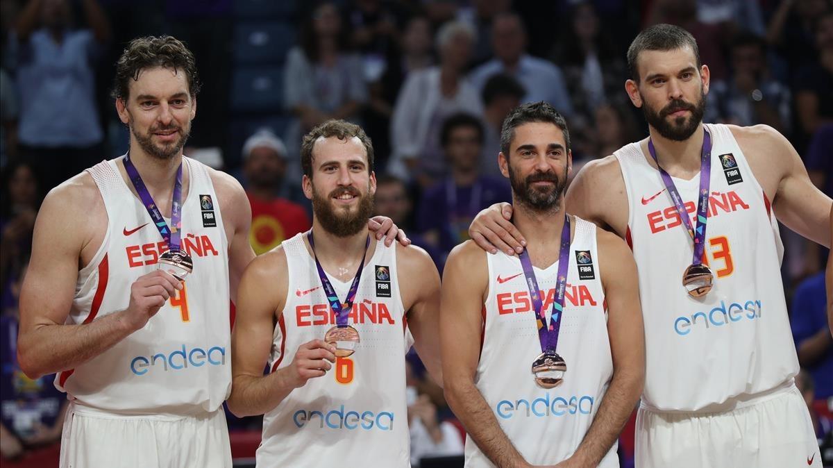 Pau Gasol es el jugador español con más medallas