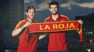 Polémica entre Piqué y Ramos por el 1-O