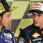 Rossi y Márquez de récord