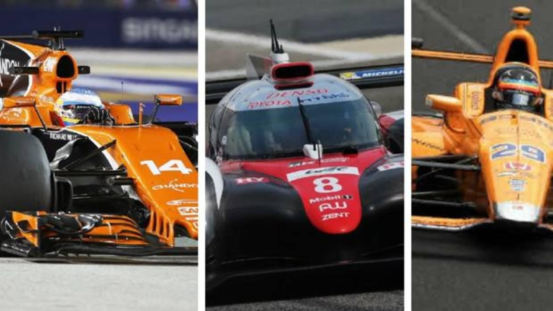 Fernando Alonso prueba en 3 categorías