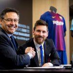 Messi renueva hasta 2021