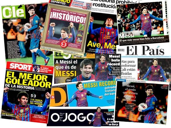 Messi supera todos los récords