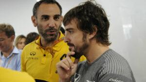 Fernando Alonso regresa a la Fórmula 1