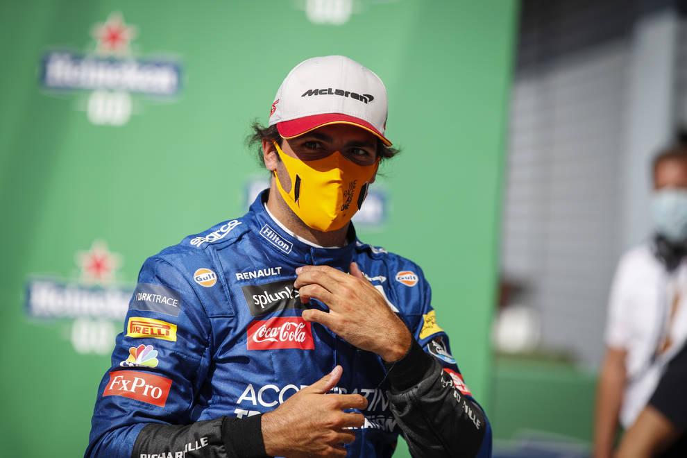 Segundo histórico de Sainz en Monza