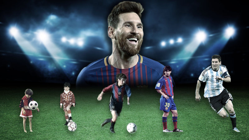 Messi tuvo un problema de crecimiento