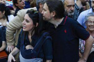 Acoso a Pablo Iglesias e Irene Montero