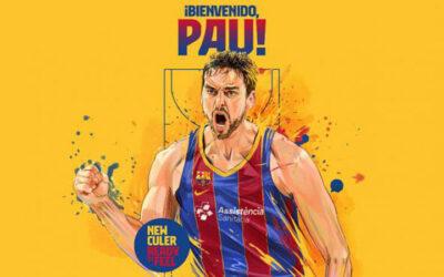 Pau Gasol vuelve al Barcelona