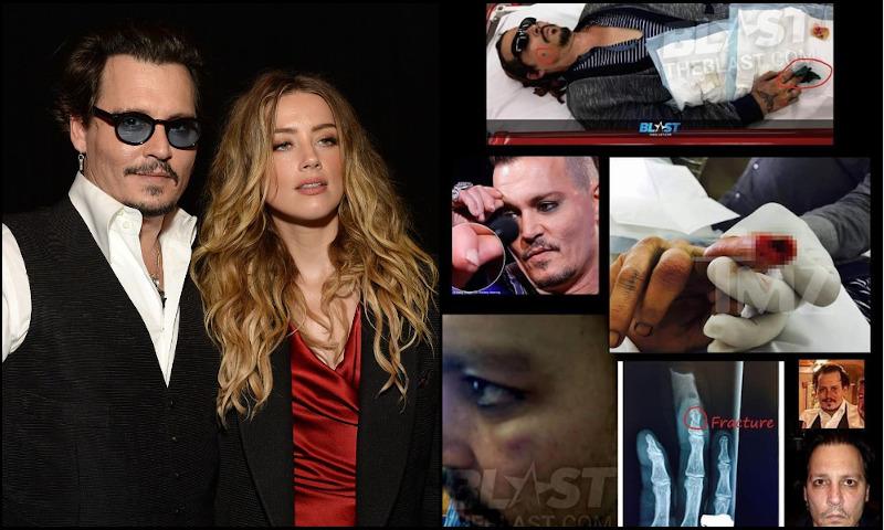 Johnny Depp maltrataba a Amber Heard