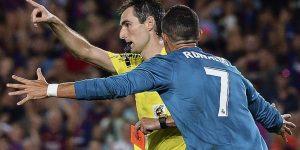 Sanción de 5 partidos a Cristiano Ronaldo