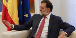 Rajoy responde con fuerza a la independencia de Cataluña